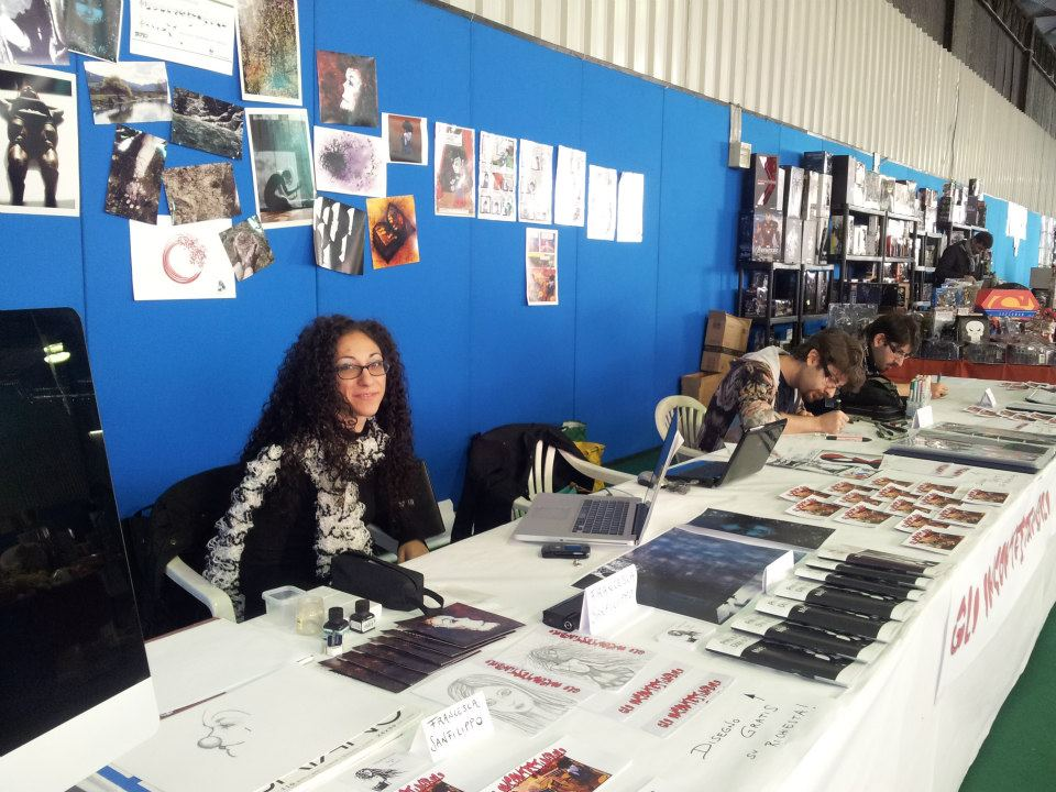 Stand expo at SanDonàFumetto 2012